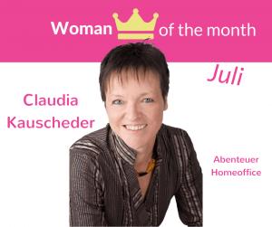 Claudia Kauscheder, woman of the month, gesundheit, aktivität, produktivität, walking, schritte
