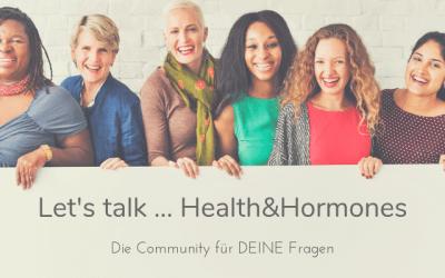 Let's talk … health&hormones – Warum der Podcast   bald noch besser sein wird