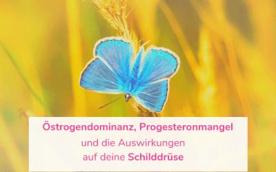 Östrogendominanz, Progesteronmangel und die Auswirkungen auf deine Schilddrüse