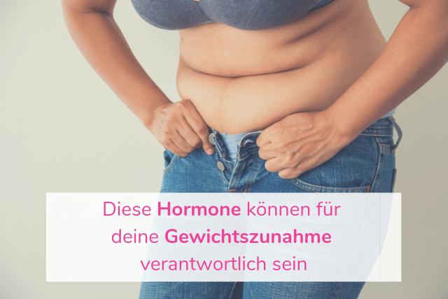 Diese Hormone können für deine Gewichtszunahme verantwortlich sein