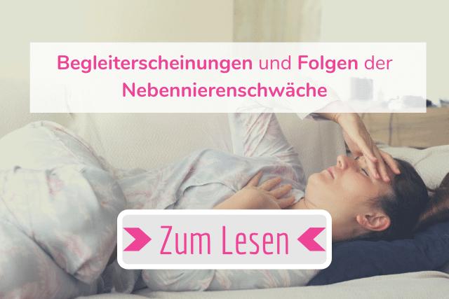 Artikel – Begleiterscheinungen und Folgen der Nebennierenschwäche