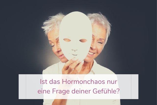Ist das Hormonchaos nur eine Frage deiner Gefühle?