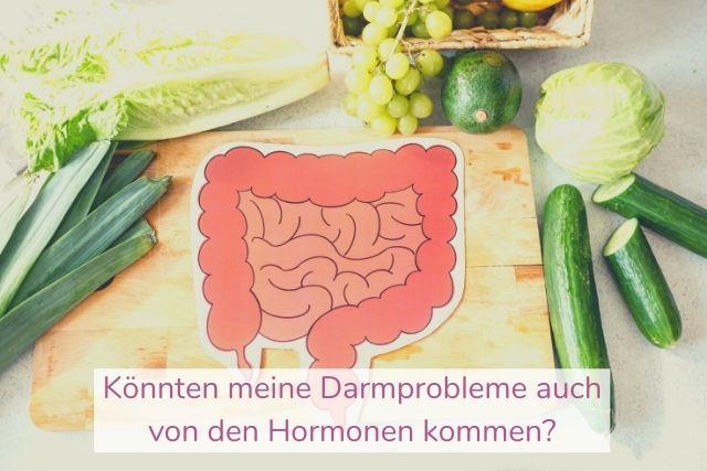 Könnten meine Darmprobleme auch von den Hormonen kommen?